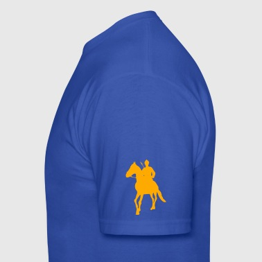 Navy Sikh Warrior  - Men's T-Shirt