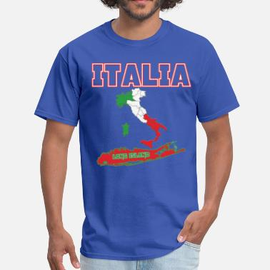 Nyc Roots Italia Long Island - Men's T-Shirt