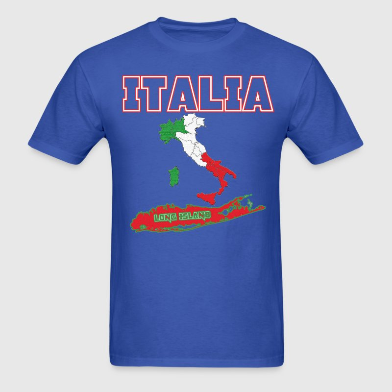 Italia Long Island - Men's T-Shirt