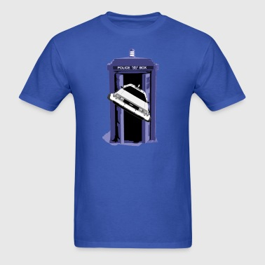 Back To The Tardis - Men's T-Shirt