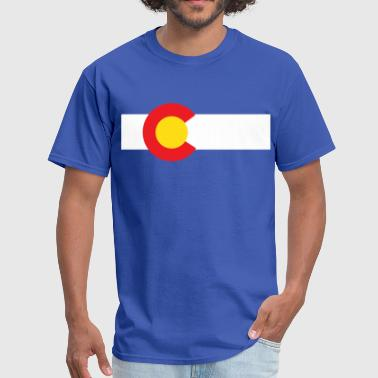 Colorado State Flag T-Shirt - Men's T-Shirt