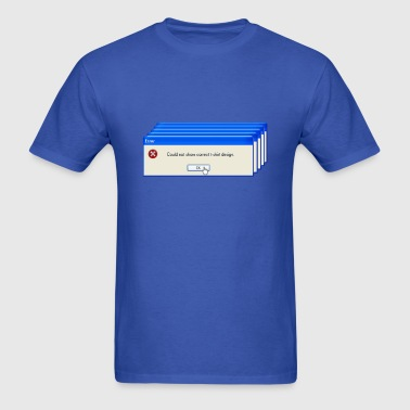 Windows Error T-Shirt - Men's T-Shirt
