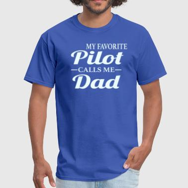 Pilot's Dad - Men's T-Shirt