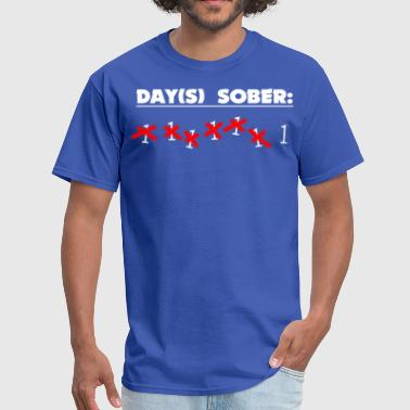 Days Sober Days Sober - Men's T-Shirt