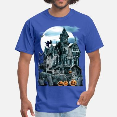 Haunted Haunted House  - Men's T-Shirt