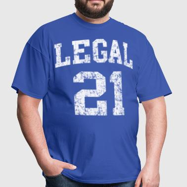 Legal 21 - Men's T-Shirt