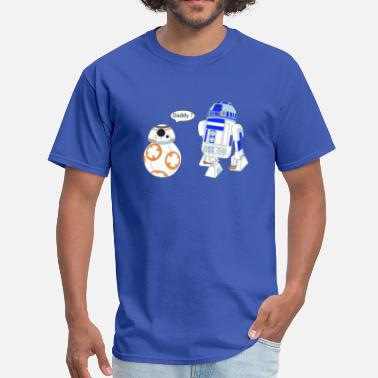 Rey bb8 and r2d2 - Men's T-Shirt