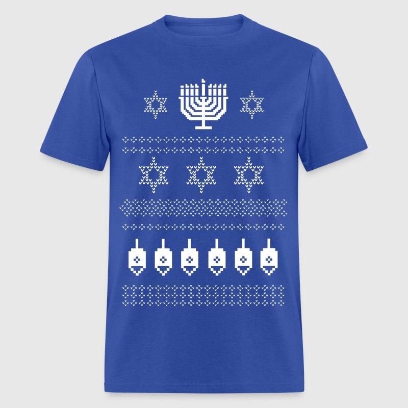 Ugly happy hanukkah sweater shirt by dirtyragz spreadshirt for Tacky t shirt ideas