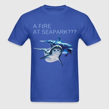 A Fire at Seapark - Men's T-Shirt