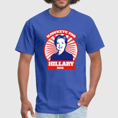 Hawkeye for Hillary 2016 - Men's T-Shirt