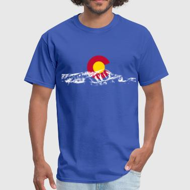 Mount Elbert colorado_mount - Men's T-Shirt