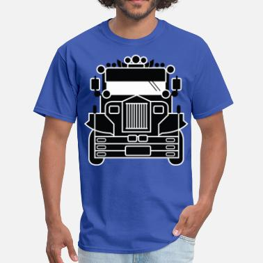 Filipino Kids Filipino Jeepney by AiReal Apparel - Men's T-Shirt