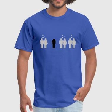 Forever alone - Men's T-Shirt