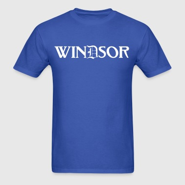 Windsor Detroit Canada Michigan Tee T-Shirt TShir - Men's T-Shirt