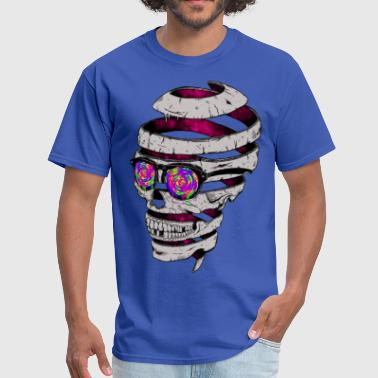 tape skull - Men's T-Shirt