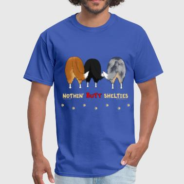 Nothin' Butt Shelties T-shirt - Men's T-Shirt