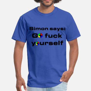 Simón Simon Says: - Men's T-Shirt