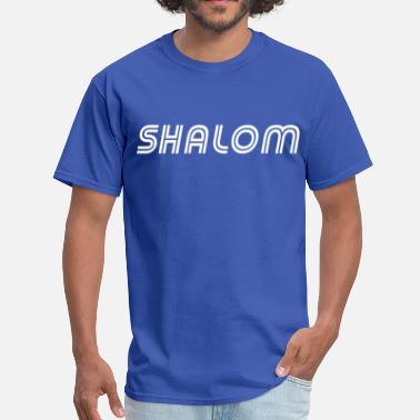 Shalom Peace Shalom, Peace - Men's T-Shirt