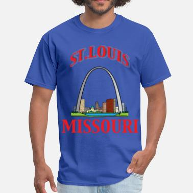 Saint St Louis City st louis 3 - Men's T-Shirt