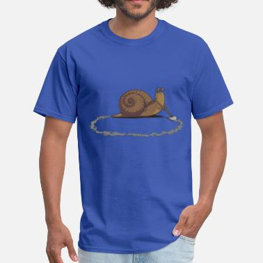 Collections Clever Snail - Men's T-Shirt