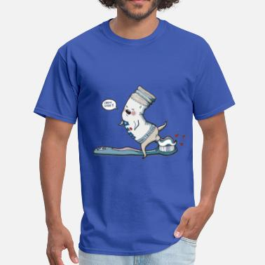 Funny Open Wide - Men's T-Shirt