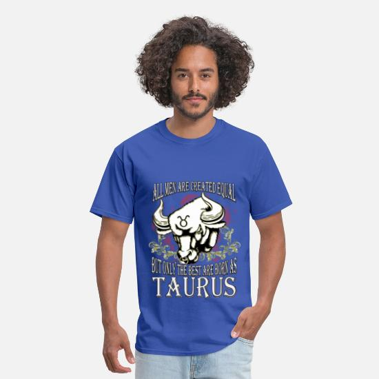 Zodiac Taurus T-Shirts - Zodiac/Taurus - Only The Best - Men's T-Shirt royal blue