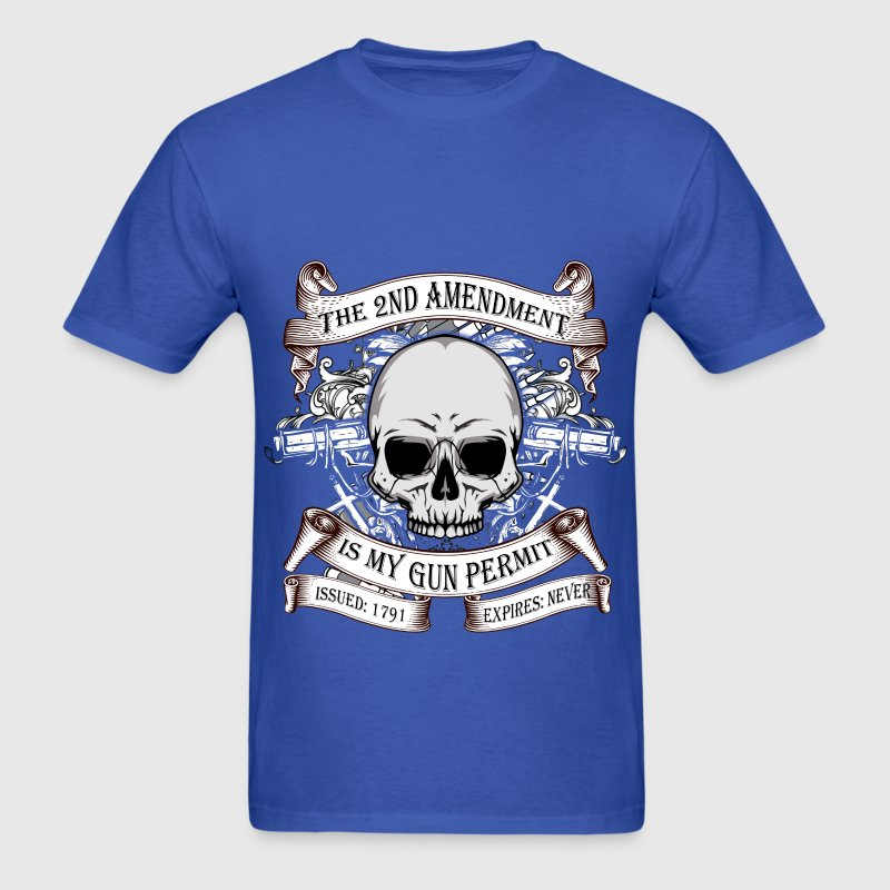 Gun Rights - No Expiry - Men's T-Shirt