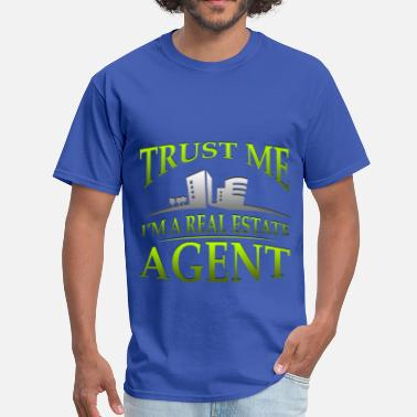 Real Job Jobs - Real Estate - Men's T-Shirt