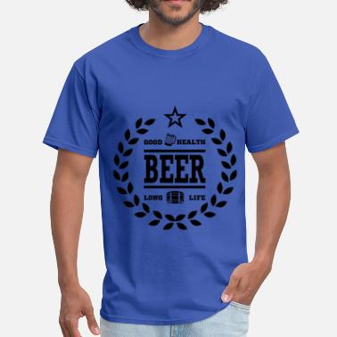 Beer Long Life BEER FOR HEALTH11.png - Men's T-Shirt