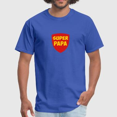 super papa  - Men's T-Shirt