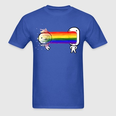 Rainbow barf - Men's T-Shirt