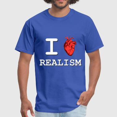 I Heart Realism - Men's T-Shirt