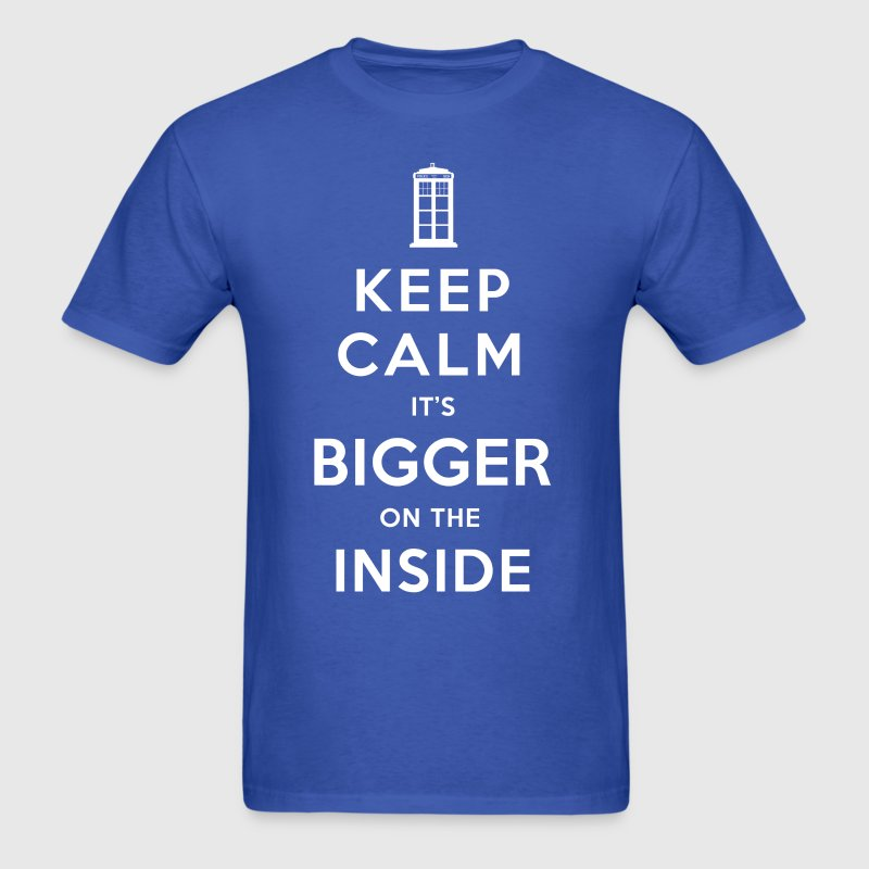 BIGGER ON THE INSIDE - Men's T-Shirt
