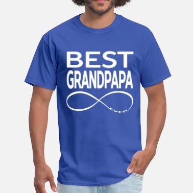 Worlds BEST GRANDPAPA EVER - Men's T-Shirt