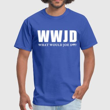 Chicago Cubs Funny WWJD Chicago Maddon - Men's T-Shirt