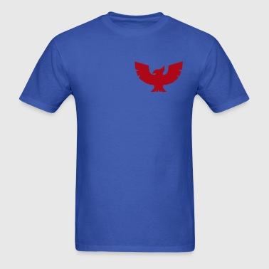 Blue Captain Falcon Logo Simple - Men's T-Shirt