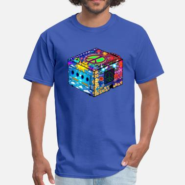 Gamecube Hippie Gamecube - Men's T-Shirt