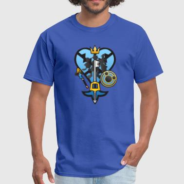 (Kingdom Hearts) All for One and One for All - Men's T-Shirt