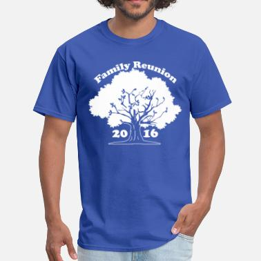 Reunion Family Reunion Oak Tree 2016 - Men's T-Shirt