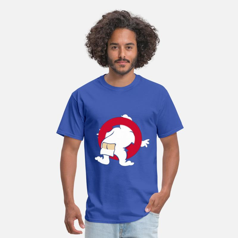 Funny T-Shirts - GhostButters - Men's T-Shirt royal blue