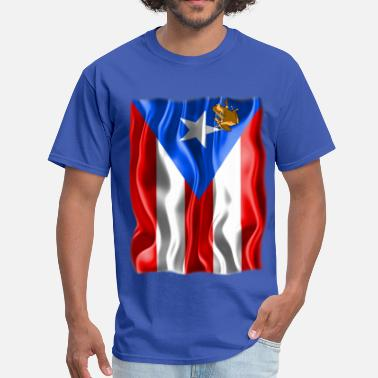 Puerto Rico Flag A Little Piece of Puerto Rico - Men's T-Shirt