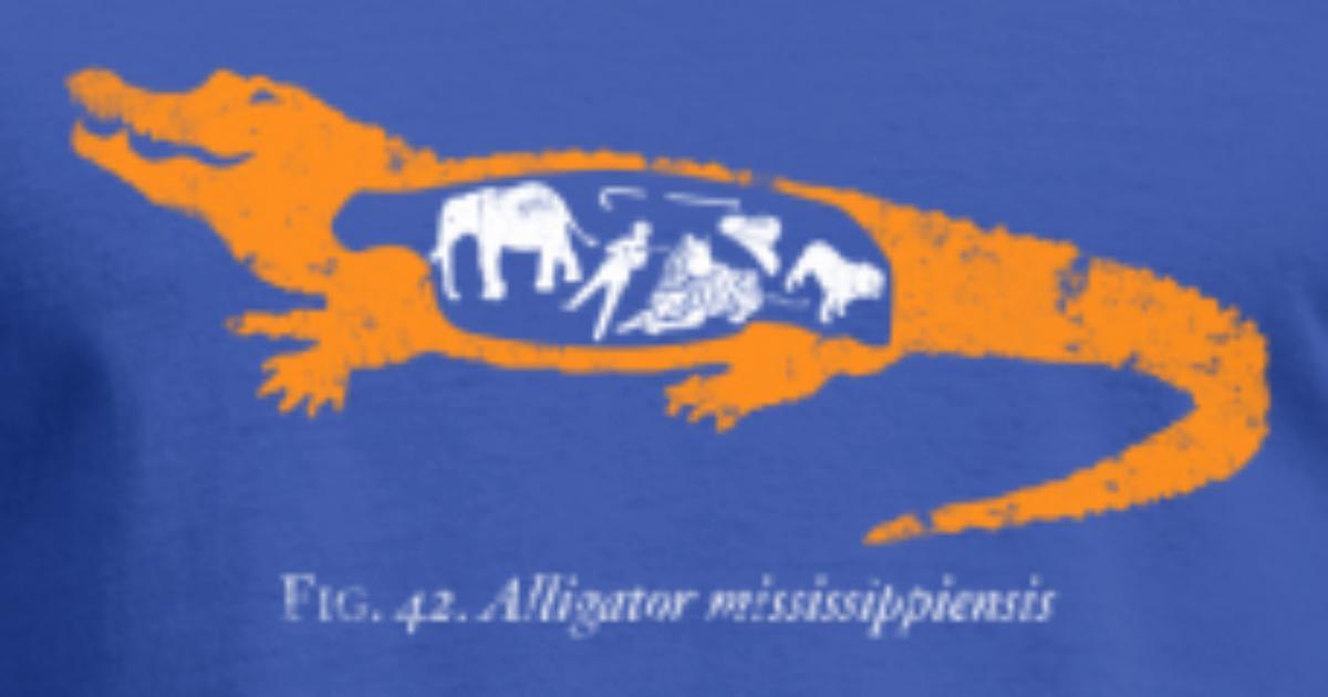 Alligator Anatomy by homebrewed | Spreadshirt