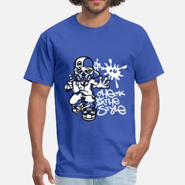 Boys Graffiti Graffiti boy - Men's T-Shirt