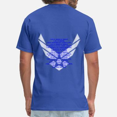 Air Force Veteran Air Force Creed - Men's T-Shirt
