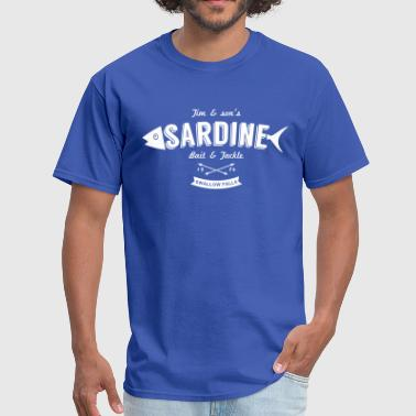 Cloudy Sardine bait and tackle - Men's T-Shirt