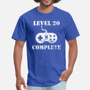 Happy 20th Birthday Level 20 Complete 20th Birthday - Men's T-Shirt
