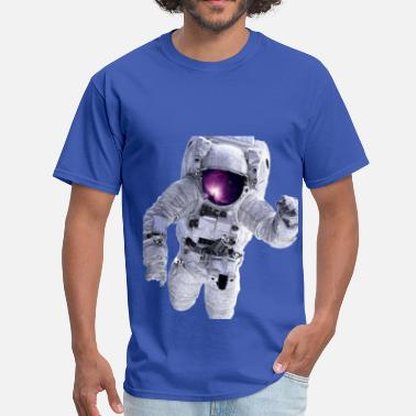 Astronaut Astronaut Galaxy - Men's T-Shirt