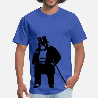 Monkey Vector Classy Monkey Vector - Men's T-Shirt