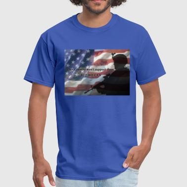 America Soldier - Men's T-Shirt