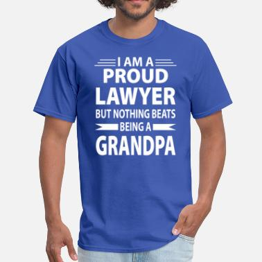 Dad Is A Lawyer Lawyer Dad - Men's T-Shirt